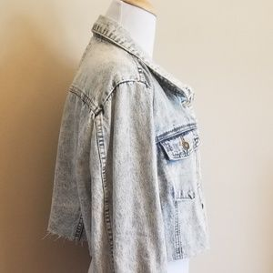 deb2ce06478 Forever 21 Jackets   Coats - Modified Plus Size Denim Jean Jacket Cropped